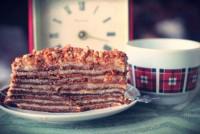 Торт «Бабусин Рижик» з заварним кремом