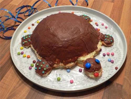 Торт Черепаха - смачні ласощі для дітей і дорослих