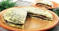 Торт «Грибний омлет»