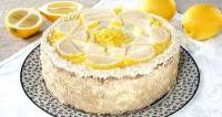 Торт «Лимонний»