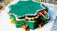 Торт «Малахитовая шкатулка»