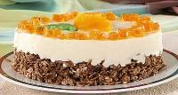 Торт «Мандариновий»