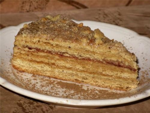 Торт «Медовик» в мультиварці