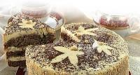 Торт «Осіннє листя»