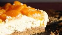 Торт-пиріг «Сирно-мандариновий»