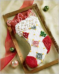 Торт «Різдвяний чобіток»