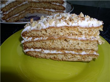Торт з медом