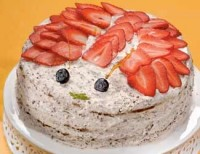Торт з горіхами «Жучок»