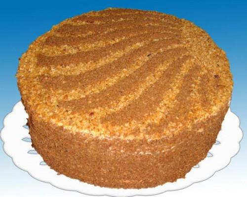 Торт з прянощами по-скандинавськи