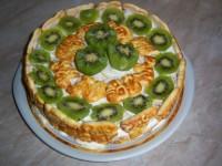 Торт з печивом вітамінним
