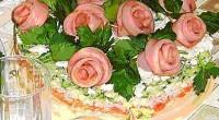 Торт-салат «Романтика»