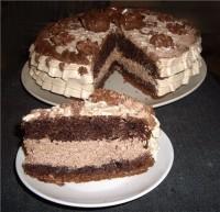 Торт «Шоколад на окропі»