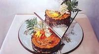 Торт шоколадно-банановий