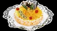 Торт «Софія» з фруктами