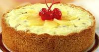 Торт сирний