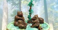 Торт «У лісах Якутії»