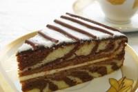 Торт «Зебра» (фото рецепт)