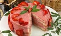 Торт «Суничний»