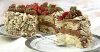 Торт «Суниця»