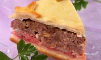 «Тосканський» пиріг м'ясний