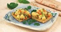 Тости з овочами