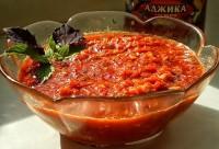 Традиційна аджика (без помідорів)