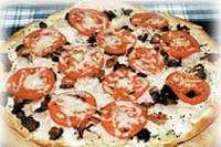 Турецька піца з куркою і беконом