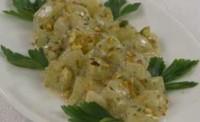 Тушковані огірки з пшоняною кашею