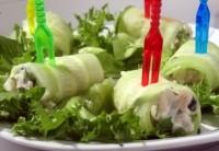 Сирно-огіркова закуска