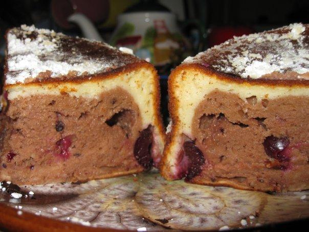 Сирно-шоколадний кекс