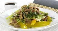 Качка з овочами