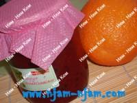 Варення з агрусу і апельсинів