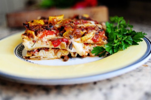 Вегетаріанська лазанья - легко і смачно