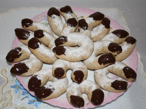 Віденське ванільно-горіхове печиво