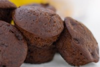 Вишнево-шоколадні пісні кекси