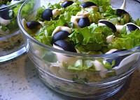 «Повітряний» салат-коктейль з куркою