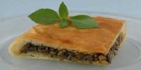Закритий пиріг із солоними грибами