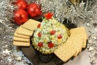 Закуска часниково-сирна «Новорічна ялинка»