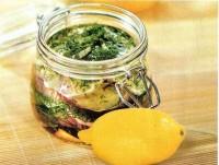Закуска з баклажанів з лимоном