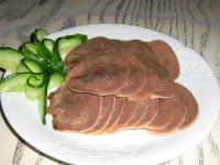 Закуска з яловичого мови