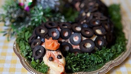 Закуска новорічна «Оселедець під зміїної шубою»