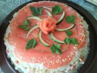 Закуска «Суші-торт»