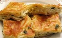 Закусочний пиріг з грибами і сиром