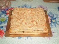 Закусочний торт «Наполеон»