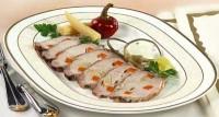 Запечена у фользі свинина з овочами