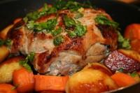 Запечене печеня зі свинини
