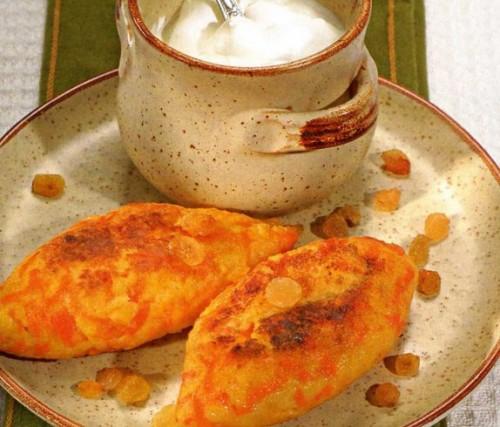 Запечені морквяні зрази по-українськи з сиром