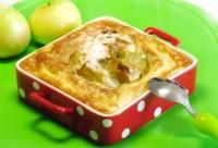 Запечені в Манном суфле яблука