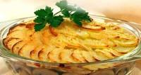 Запіканка з картоплі і грибів