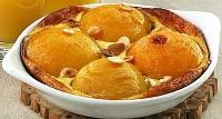 Запіканка з персиків